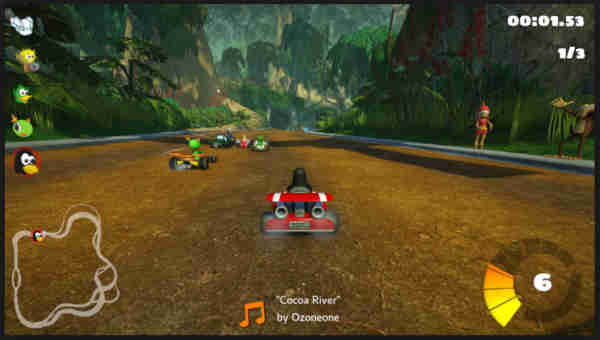 Karting Race, Go-Kart Racing Game