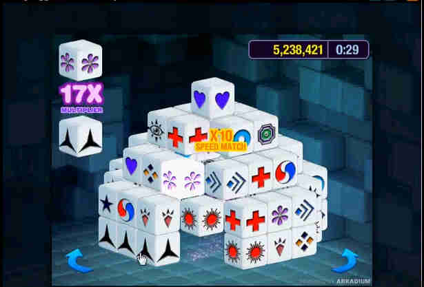 Mahjongg Minute Pch Games: Token Mania Mahjongg Gameplay