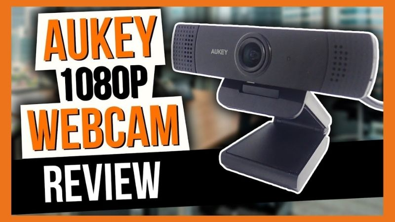 Webcam streaming 1080p from Aukey