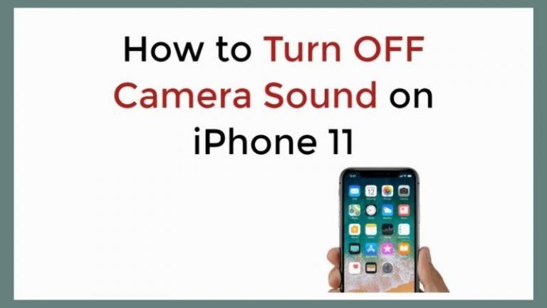 Remove Sound to iphone Camera