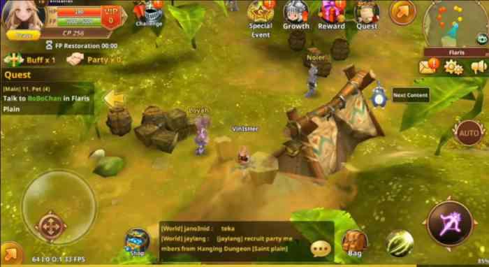 rpg online multiplayer games